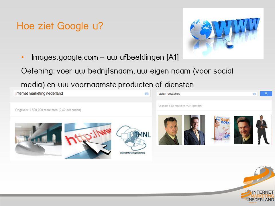 Hoe ziet Google u Images.google.com – uw afbeeldingen [A1]